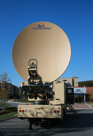 3.8m Vehicle/Trailer-Mount / DriveAway Military Antenna