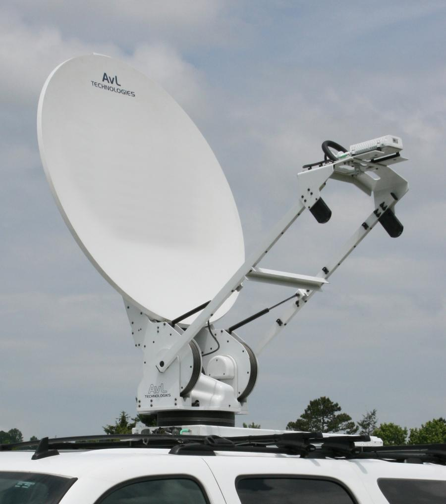 Ka-Band Mobile Broadband Antennas - Models 880KVH / 1080KVH / 1280KVH